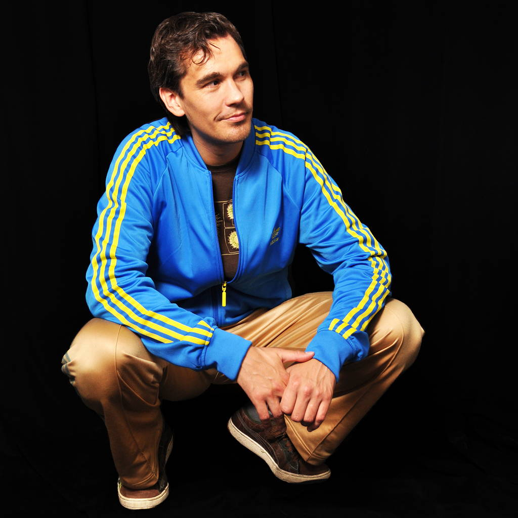 Model Sebastian Hubner for Adidas