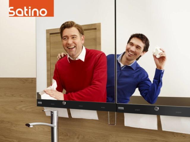 Sebastian Hubner voor Satino