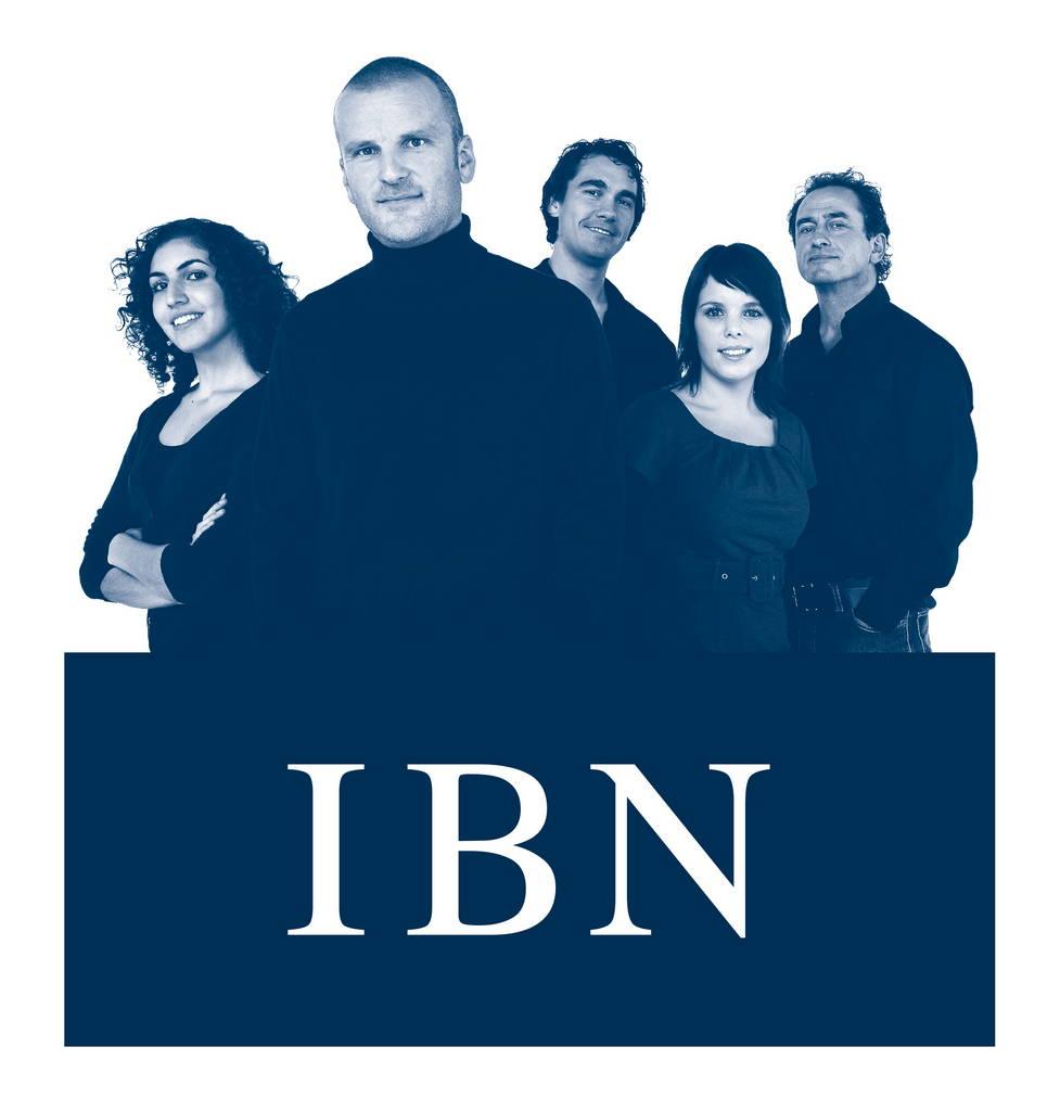 model Sebastian Hubner in beeldmerk IBN (Integrale Bedrijven Noordoost-Brabant)