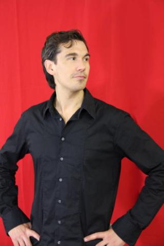 model Sebastian Hubner voor Studio 23